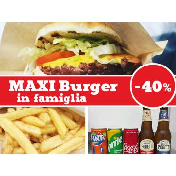 Maxiburger in Famiglia