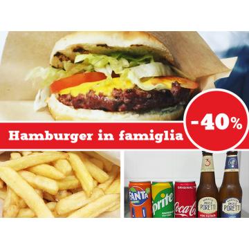 Hamburger in Famiglia